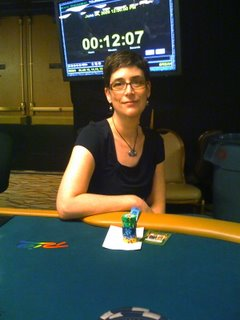 Cardgrrl at WSOP Event 11